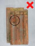 Luijtgaarden - Uitsorteercreteria Kraters niet hergebruiken (1) - Gebruikte dakpannen