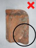 Luijtgaarden - Uitsorteercreteria Kraters niet hergebruiken (2) - Gebruikte dakpannen
