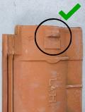 Luijtgaarden - uitsorteercreteria nokjes hergebruiken (1) - Gebruikte dakpannen