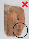 Luijtgaarden - Uitsorteercreteria schade aan de wel niet hergebruik (1) - Gebruikte dakpannen
