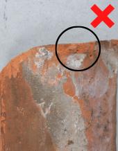 Luijtgaarden - uitsorteercreteria nokjes niet hergebruiken (1) - Gebruikte dakpannen