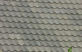 Verbeterde Holle (VH) Gebruikt Blauw gesmoord dakpannen