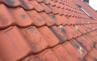 Verbeterde Holle (VH) Gebruikt Natuurrood dakpannen
